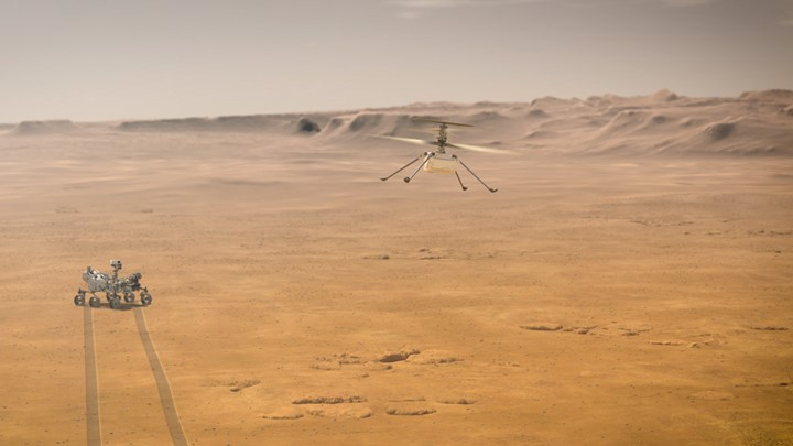 artistic-rendering-ingenuity-mars-helicopter-perseverance-rover