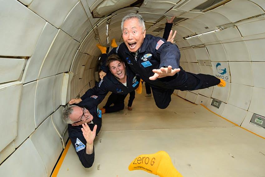 weightlessness training